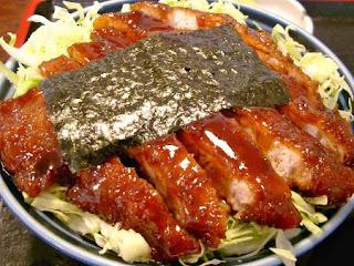 ソースカツ丼 / 同気食堂 (西会津町)
