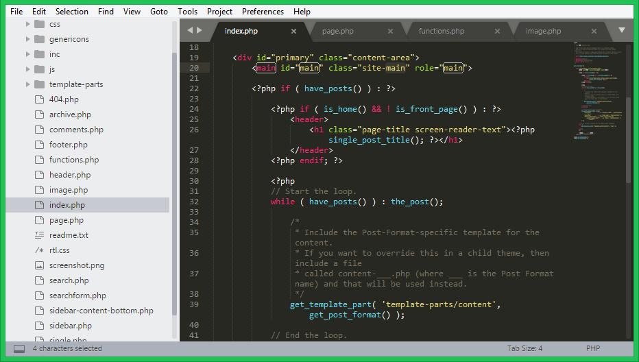 Tải Sublime Text 3.2.1 | Trình soạn thảo ngôn ngữ lập trình mới nhất