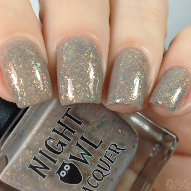 Night Owl Lacquer-Of A Feather