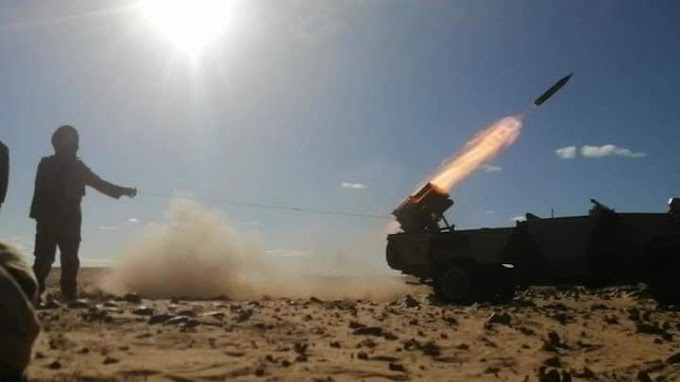 🔴 البلاغ العسكري رقم 65: الجيش الصحراوي يواصل قصف تمركزات قوات الإحتلال المغربي خلف جدار العار.