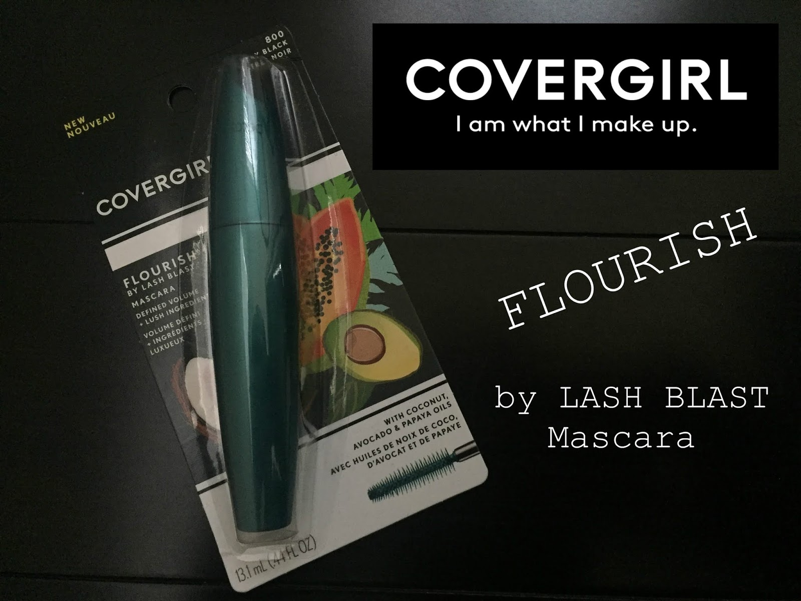 a573165bc93 Covergirl Flourish by Lash Blast Mascara Review and Swatches | A ...