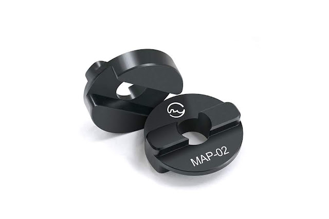 Sunwayfoto MAP-01 and MAP-02 Manfrotto® Bushing Adapters
