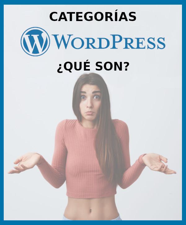 ¿Qué son y para qué sirven las categorías en wordpress?
