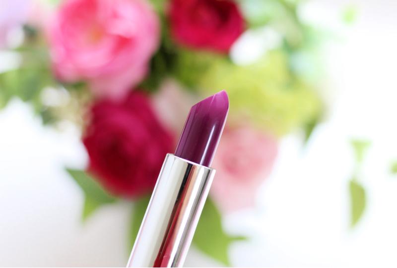 a fuscia lipstick tube
