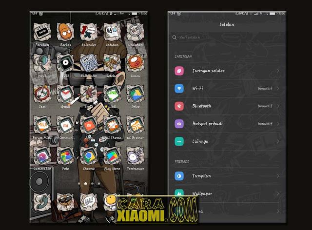 Download MIUI Theme Cool Boy Mtz Terbaru Tema Keren dan Trendy