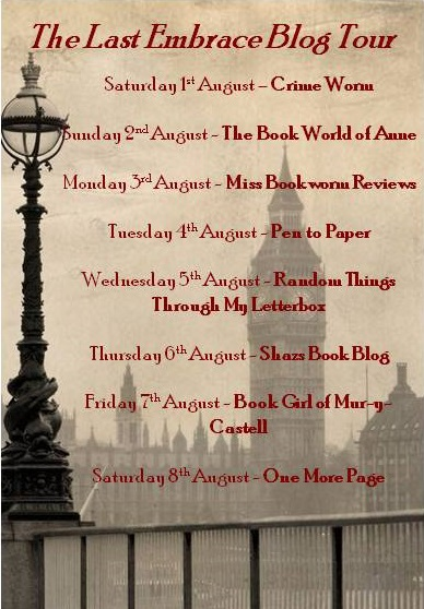 The Last Embrace Blog Tour