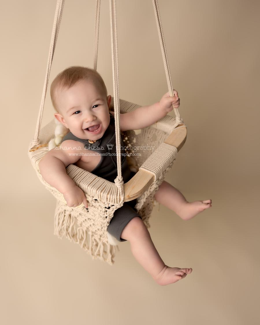 Eugene Oregon 6-month baby photographer