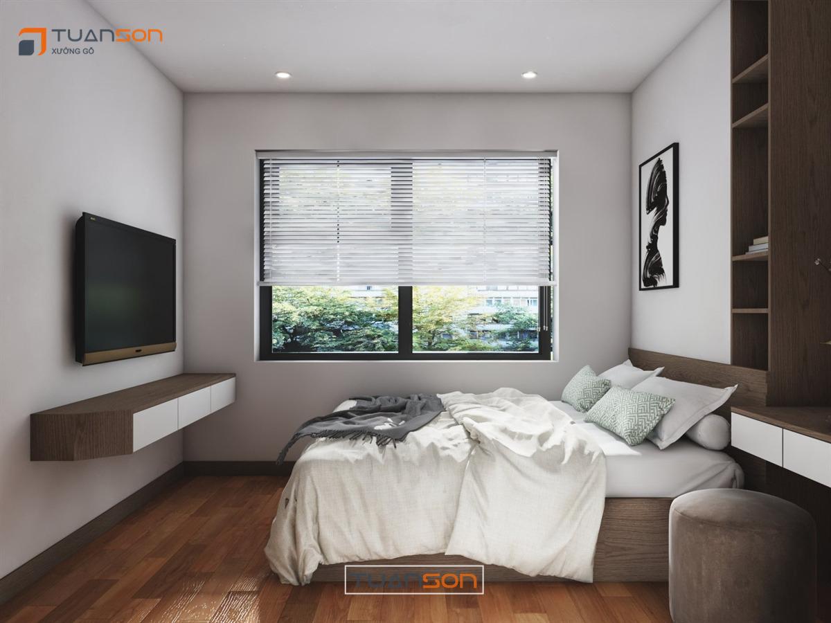 Thiết kế nội thất: Căn hộ 55m2 Rose Town 79 Ngọc Hồi