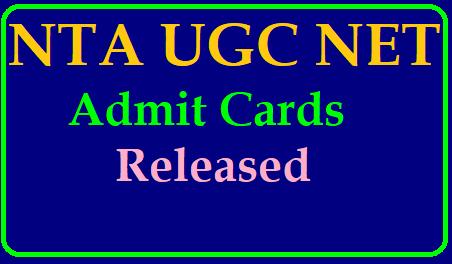 NTA UGC NET Exam Admit Cards 2019 Released /2019/06/nta-ugc-net-exam-admit-card-2019-released-download-from-official-website-ntanet.nic.in.html