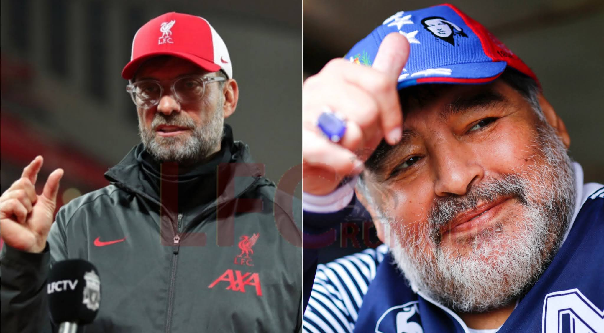 Jurgen Klopp's tribute to Diego Maradona