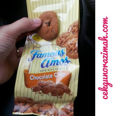 famous amos, cookies sedap, cookies mahal, terapi stress