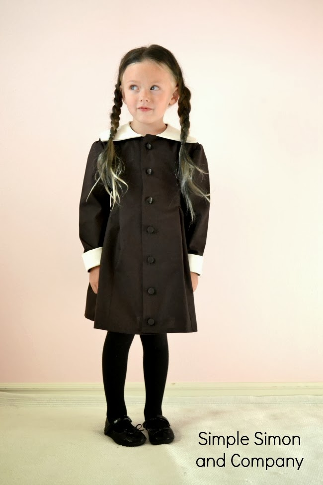 Have Hily Made Her Any Costume In The World But Oh How She Makes Me Laugh Walking Around Trying To Keep A Very Serious Face As Wednesday Addams