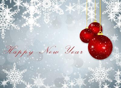 happy new year card photos