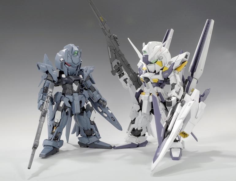 Custom Build: HG X SD Gundam Delta Kai