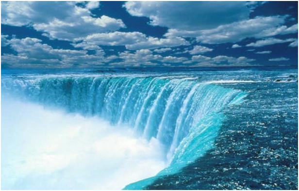 The Victoria Falls di Sungai Zambezi