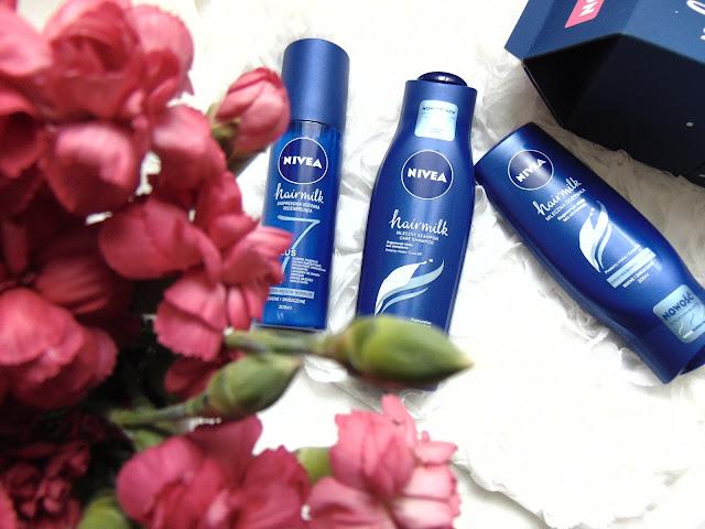 Nivea Hairmilk - Pierwsza mleczna linia do włosów od Nivea