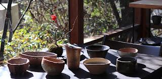 山野草盆栽の盆栽鉢・陶盤