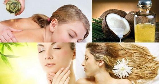Làm đẹp da đơn giản hiệu quả cao từ dầu dừa