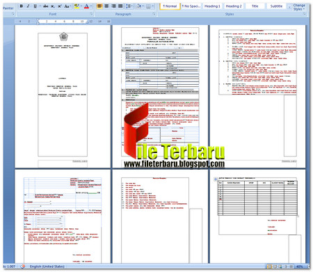Download Formulir Aktivasi E-Fin Gratis Format Word