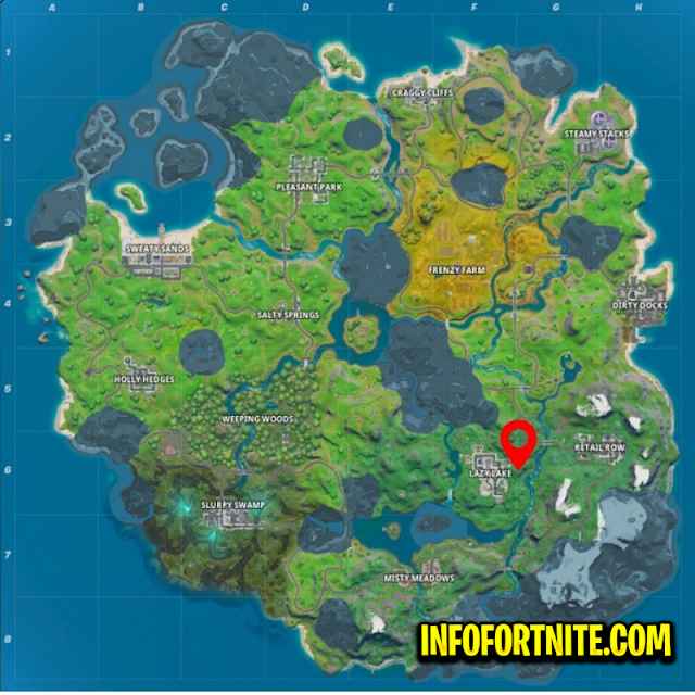 Fortnite : Find the Hidden Letter F On The Loading Screen, Challenge