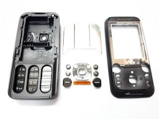 Casing Sony Ericsson W830 W830i Jadul New Fullset Langka