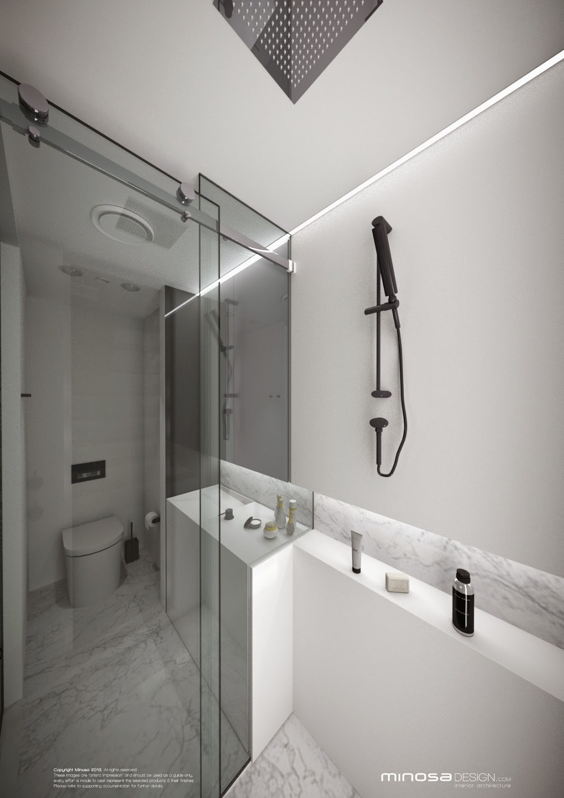Why Bathroom Remodeling How To Set Bathroom Remodeling: Minosa: Small Bathroom & Glass Walls. Why Not?