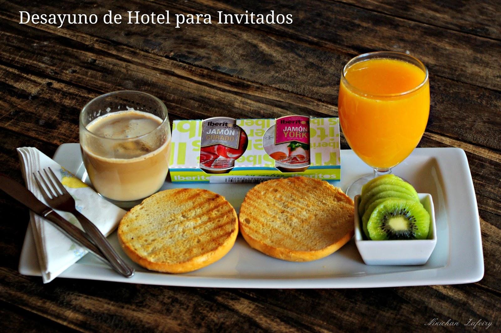 Desayuno de hotel para invitados recetas de una gatita for Comida para invitados