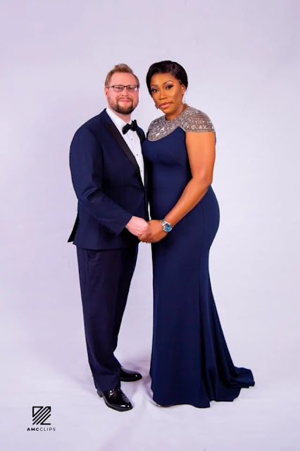 40-year-old Nigerian Woman Gets Engaged To White Lover On Her Birthday