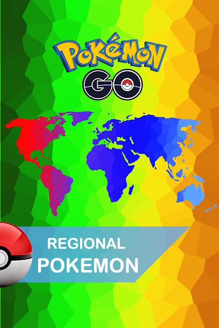 Regional Pokemon May 2019