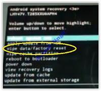 wipe data / factory reset galaxy tab a 7 2016