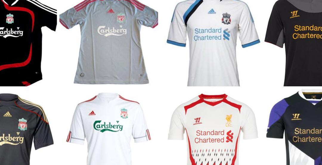 buy online ae018 642e3 Which Is The Best / Worst? Here All 27 Liverpool Away ...