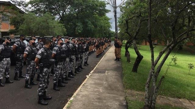 POLÍCIA MILITAR LANÇOU OPERAÇÃO PRONTA RESPOSTA EM TODO O PARANÁ