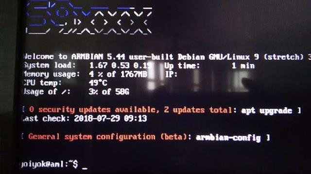 instal Armbian STB HG680p