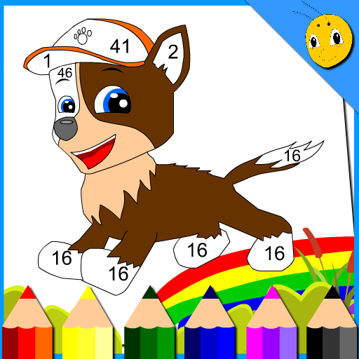Cartoon Animals Coloring For Kids - Paw little Bee Games