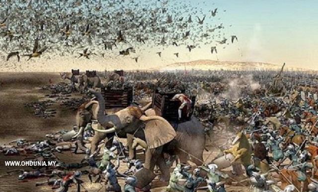 Kisah Burung Ababil Musnahkan Tentera Bergajah Abrahah