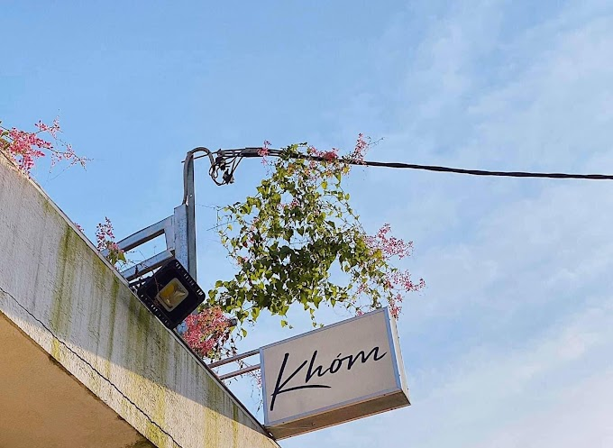 Khóm Coffee & Tea Quận 1 - Địa điểm check in sớm tết nguyên đán 2021