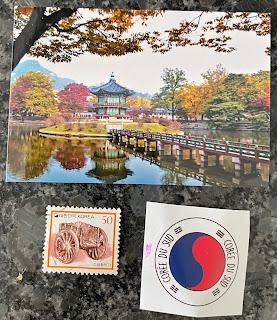Souvenirs contenus dans la box Kidi Globe Trotter sur la Corée