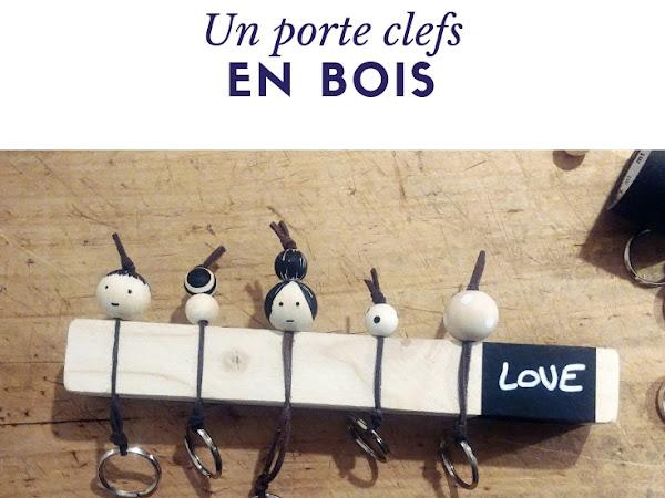 #Tuto : Un porte clefs en bois