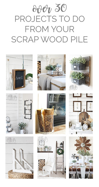 DIY scrap wood projects. Projects to do at home during quarantine. DIY wood decor. DIY home decor. How to use scrap wood. What to do with your scrap wood pile.