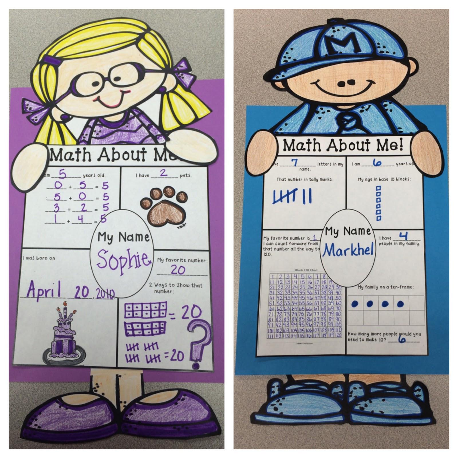 The 2 Teaching Divas Math About Me