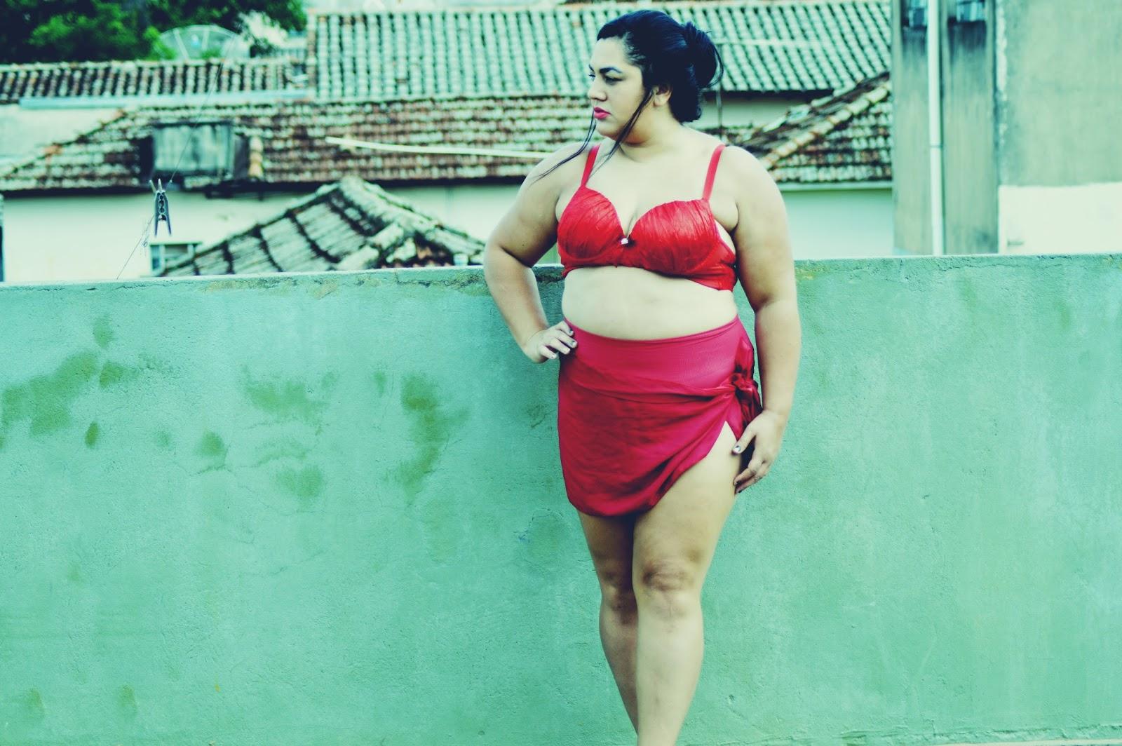 9ef650b26 Mundo Plus  Look Plus size do dia- Calcinha cintura alta