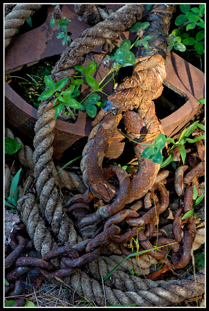 Nova Scotia; Maritimes; Chain; Rope; Rigging