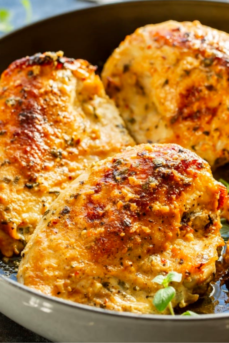 Oven Chicken Breasts Roasted Greek