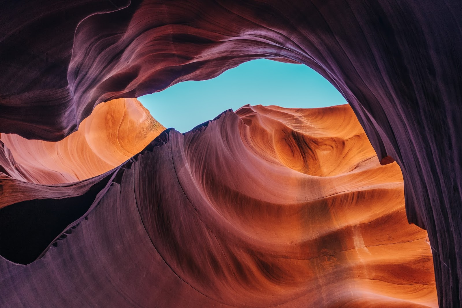Antelope Canyon Arizona Photo
