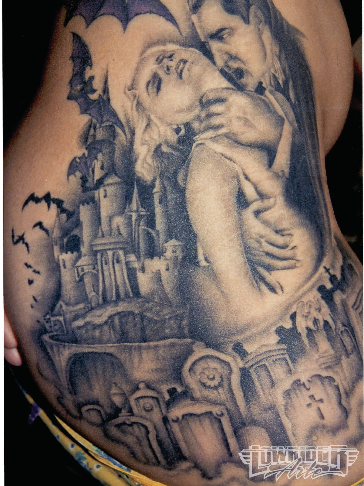 Vampire Tattoos That Will Live Forever Hungry Guff Vampire tattoos for girls, men & women. guff