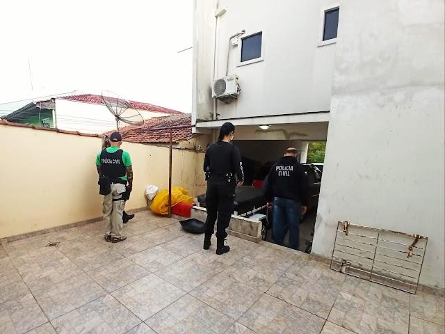 PCPR prende envolvido em grupo criminoso que deu prejuízo de R$ 1 milhão em golpes na internet