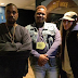 Kim K pictured backstage at Kanye West's show with Alton Sterling's son