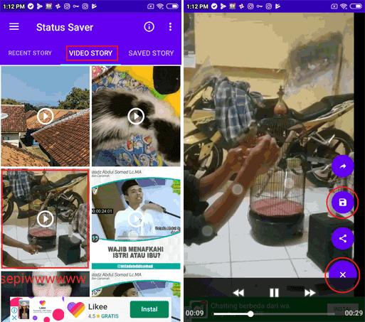 10 Cara Menyimpan Status Gambar dan Status Video Whatsapp Orang Lain Dengan Mudah