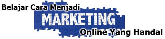 Belajar Cara Menjadi Marketing Online Sukses