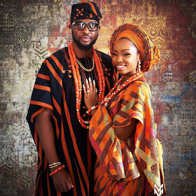 #BBNaija's BamBam and Teddy A wedding photos